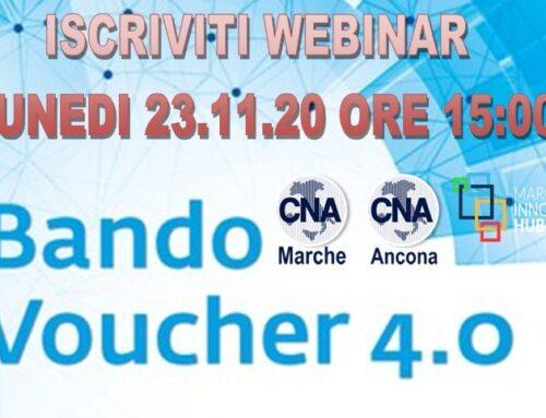 Bando voucher impresa 4.0 webinar formativo iscriviti subito